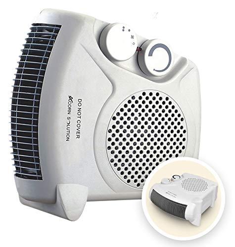 AcornSolution Electric Fan Heater, Portable 2KW Fan Heater with Adjustable...