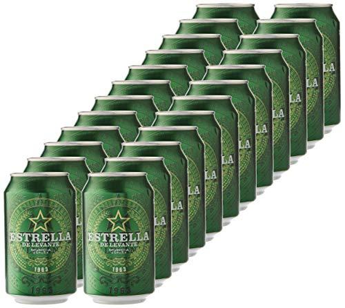 Estrella Levante Cerveza - Caja de 24...