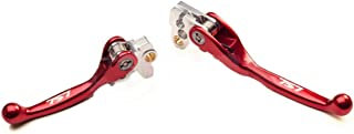 Honda Flex Brake And Clutch Lever Set Red CR 80 85 125 250 500 CRF 150R 450R
