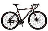 "Pedaloop XC-760-Aluminium 21 Speed Unisex Road Bike Shimano - 20"" Frame"