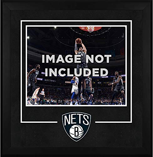 New Jersey Nets NBA Framed 8x10 Photograph Team Logo and Basketball