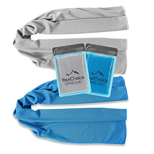 For Sale! Your Choice Cooling Towel Workout, Gym, Fitness, Golf, Yoga, Camping, Hiking, Bowling, Tra...