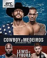 UFCファイトナイト126ドナルドセローニVSヤンシーメデイロスカバーポスターキャンバスプリントウォールアートデコレーション写真モダンルームデコレーションアートワーク-20x30インチフレームなし(50x75cm)