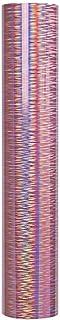 Laser brushed lettering 1 Roll Instant Paste Lettering Paper Film Drawing Lettering Sticker (Pink)