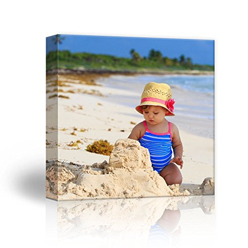 wall26 Personalized Photo to Canvas Print Wall Art - Custom Your Photo On Canvas Wall Art - Digitally Printed (16' x 16')