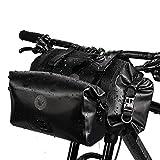 Rhinowalk 2PC Bike Handlebar Bag Set Waterproof Bicycle Front Tube Bag Large Capacity Storage Bag Shoulder Bag