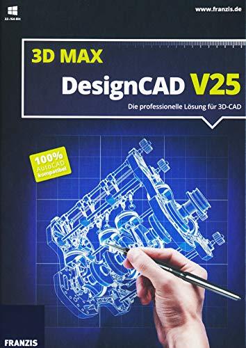 Preisvergleich Produktbild DesignCAD 3D Max V25 / V25 / - / - / PC / Disc / Disc