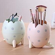 Gospodarstwo domowe urocze kreskówka smok jajko kształt pojemnik na długopisy kreatywny i modny pojemnik na pędzle do maki...
