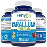 Pure Caralluma Fimbriata Extract 1200 mg - 120 Capsules, Non-GMO & Gluten Free, Maximum Strength Natural Weight Loss...