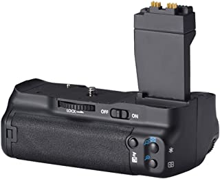 Camera Battery Grip for Canon BG-E8, for Canon EOS 550D 600D 650D 700D, ABS Holder Vertical Dial Fashion Design