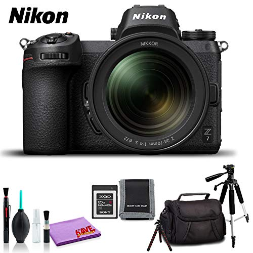Check Out This Nikon Z 7 Mirrorless Digital Camera with 24-70mm Lens (International Model) - Standar...