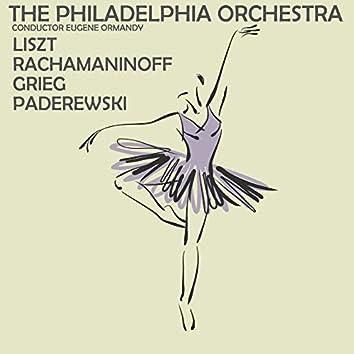 Liszt, Rachmaninoff, Grieg and Paderweski