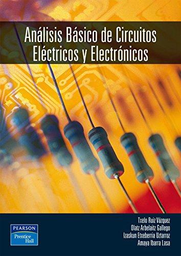 ANÁLISIS BÁSICO DE CIRCUITOS ELÉCTRICOS Y ELECTRÓN