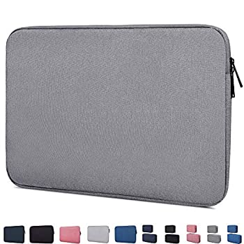 14-15 Inch Waterproof Laptop Sleeve Case Compatible with Acer Chromebook 14 Macbook Pro 15 Inch HP Stream 14/Pavilion X360 14 HP Chromebook 14 LG gram 14  ASUS VivoBook 14 inch Notebook Bag,Grey