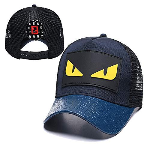 sdssup Sombrero de Red Casual Pareja Compras Gorra de béisbol Sombrero Curvo 7 Ajustable