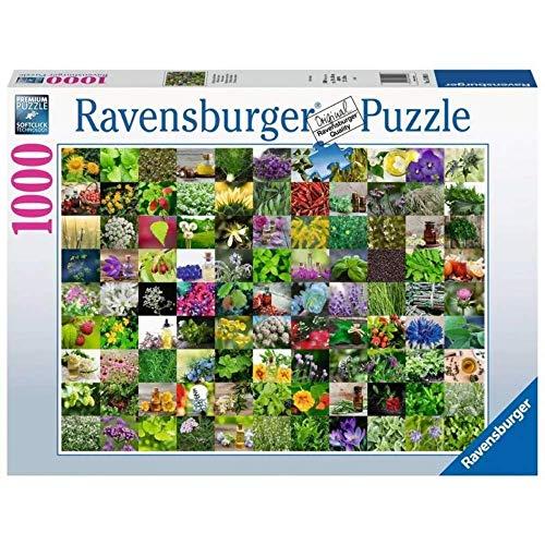 Ravensburger Erwachsenenpuzzle-99 Kräuter Puzzle de 1000 Piezas, Multicolor (15991)