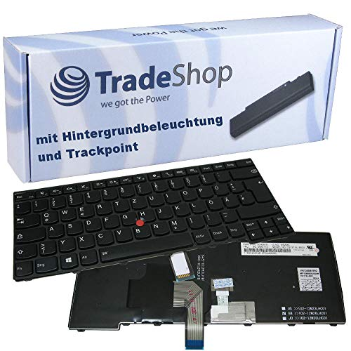 Trade-Shop Original Laptop Tastatur/Notebook Keyboard Deutsch QWERTZ für Lenovo Thinkpad T440I T440P T440S T440SI T450 T450S T460