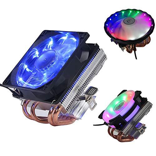 zNLIgHT 4 Koper Heatpipes CPU Koeler Radiator Koeling Ventilator voor A-MD I-ntel 1150 1151 5 Colors