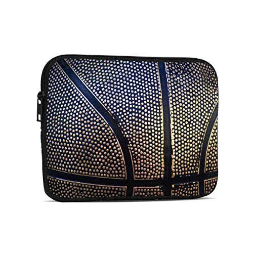 Metal Basketball Texture 9.7' Tablets Sleeve Bags Polyester Protection Cover for Ipad Air 2 / Ipad Mini 7.9' Case Pouch