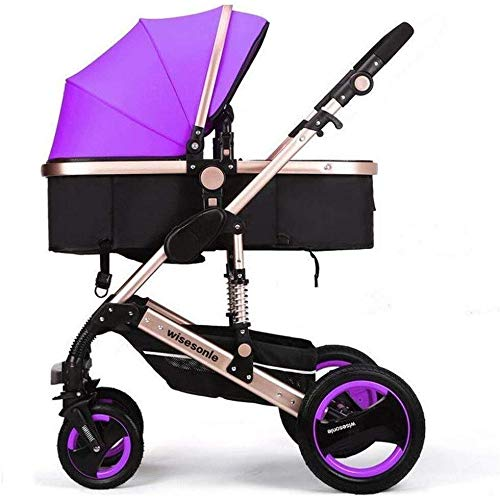 For Sale! Unisex Two Way Strollers 2 in 1 Baby Pushchairs Toddlers Newborn Prams Fold Reclining,Can ...