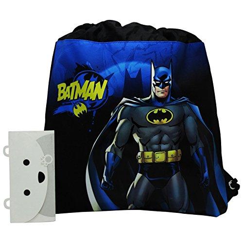 Dc Comics Batman Mochila Bolso Escolar Bolsa cuerdas