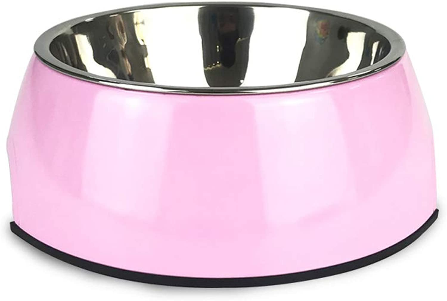 Convenient and Practical Dog Food Bowl Simple Dog Drinking Water Bowl Fashion Pet Supplies Bowl (Size   S 14  4.5cm)