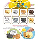 YIKESHU Music Scale Cat Childrens Toys Electric Player Piano Choir Educational Gift for Birthday Gifts