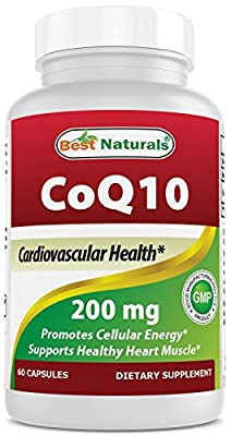 Best Naturals COQ10 200 mg, 60 Capsules by Best Naturals
