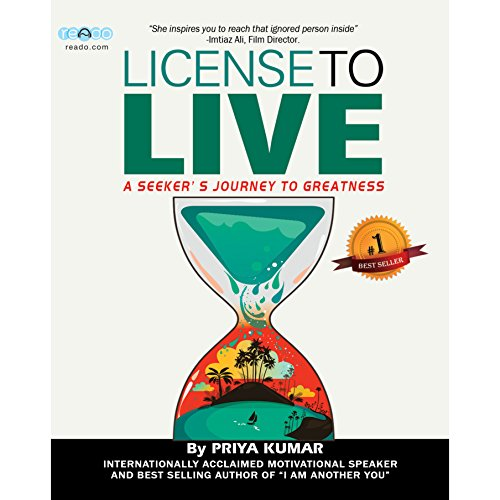 License to Live audiobook cover art