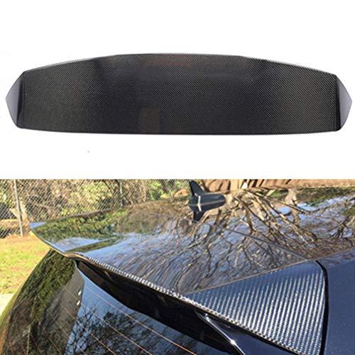 NA Spoiler Trasero de Fibra de Carbono para VW Golf 7 Mk7 VII GTI R 2014-2019 Spoiler estándar con portón Trasero Cola del Techo Tronco Labio ala del Parabrisas
