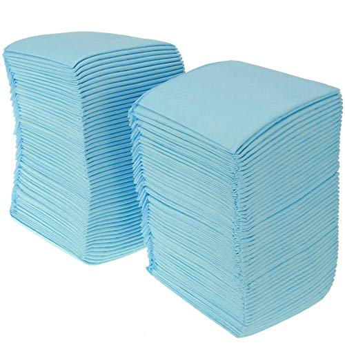 PrimeMatik - 100 empapadores absorbentes de 33 x 45 cm. Toallas de Entrenamiento para Perros Cachorros