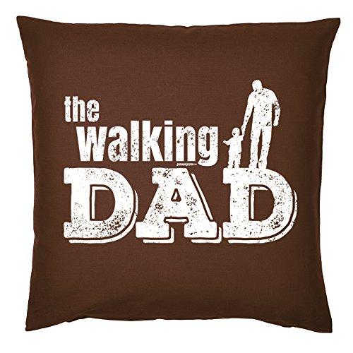 Art & Détail T-shirt Coussin : Papa Dad Père Jour The Walking Dad – Comme Présent