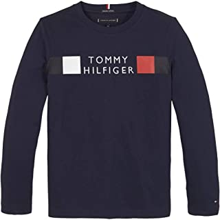 Tommy Hilfiger Structured Linen Shirt L//S Camicia Bambino