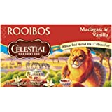Celestial Seasonings Rooibos Tea, Madagascar Vanilla, 20 Count (Pack of 3)