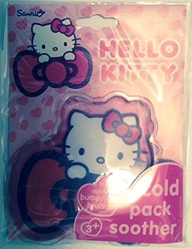 Hello Kitty Cold Pack Schnuller, für kleine Schnitte und Kratzer