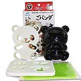 Japanese Bento Accessories Cute Baby Panda Sushi Maker Rice Mold & Seaweed Nori Cutter Sushi Maker Set