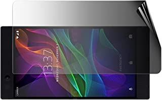 Celicious Sekretess 2-vägs landskap antispionfilter skärmskydd film kompatibel med Razer telefon