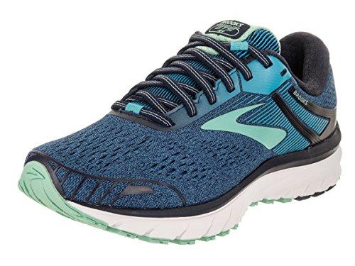 Brooks Adrenaline Gts 18, Women's Running Running Shoes, Blue (Navy/Teal/Mint 495), 3.5 UK (36 EU)