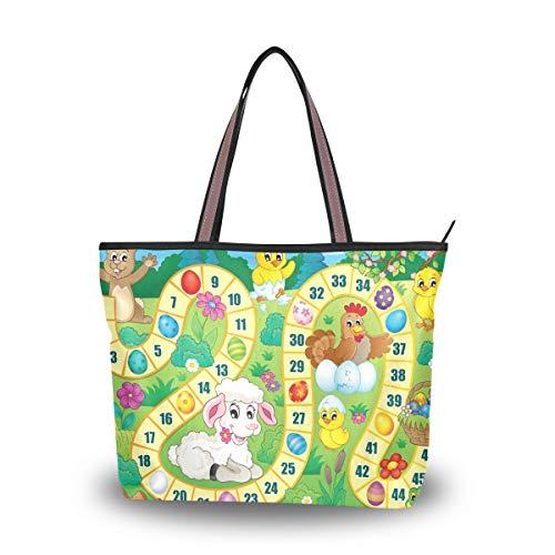Sac à bandoulière sac à main sac à main sac à bandoulière bulldog pour femmes filles dames étudiant sacs à bandoulière animal ferme numérique nombre jeu lapin