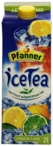Pfanner Eistee Lemon -Lime, 6 x 2 l Packung