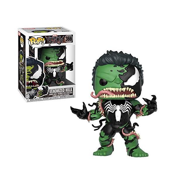 Funko Pop Hulk Venomizado (Venom 366) Funko Pop Marvel