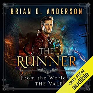 The Runner audiobook cover art