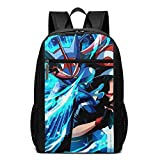 WLQP Pok?mon Cool Youth Backpack School Bag for School