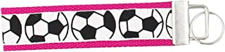 Infinity Collection Soccer Keychain, Soccer Gifts, Soccer Wristlet FOB, Proud Soccer Player, Team or Coach Gifts …