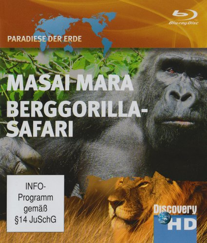 Masai Mara/Berggorilla-Safari - Discovery HD [Blu-ray]