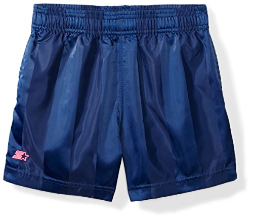 Starter Girls' 3' Soccer Short, Amazon Exclusive, Team Navy, L (10/12)