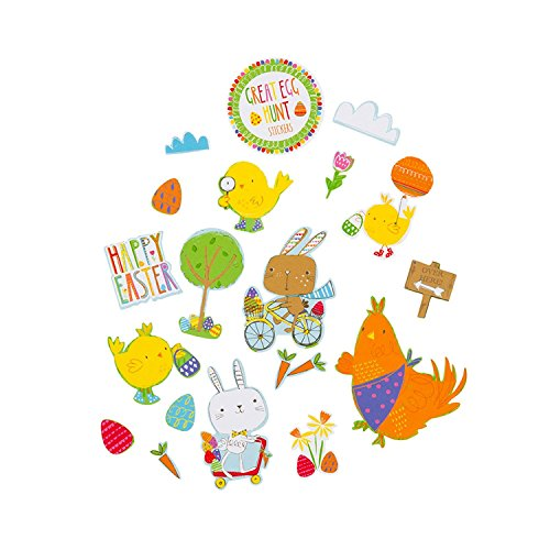 Talking Tables Stickers The Great Egg Hunt