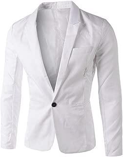 Sallydream Traje de Vestir de Terciopelo Casual Hombre Slim Fit Estampados de Fiesta Elegantes Blazer Chaquetas Elegantes