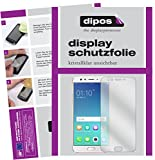 dipos I 2X Schutzfolie klar kompatibel mit Oppo F3 Plus Folie Bildschirmschutzfolie