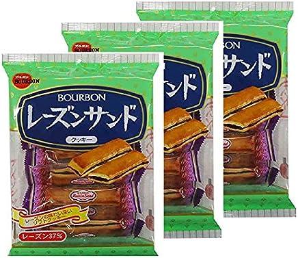 ブルボン レーズンサンド 8本×3袋